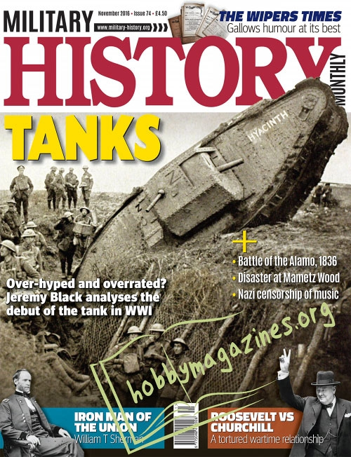 Military History Monthly November 2016 Hobby Magazines