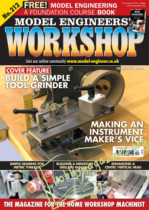 Model Engineers Workshop 212 187 Hobby Magazines Free