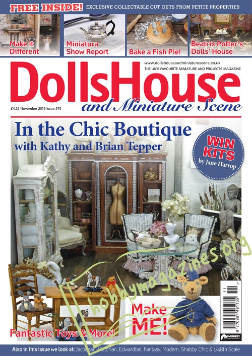 Dolls House and Miniature Scene – November 2016