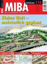 MIBA Spezial 110 : Kleine Welt – meisterlich geplant