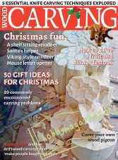 Woodcarving - November/December 2016