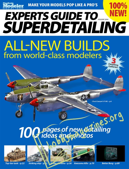 FineScale Modeler Special : Experts Guide to Superdetailing 2016