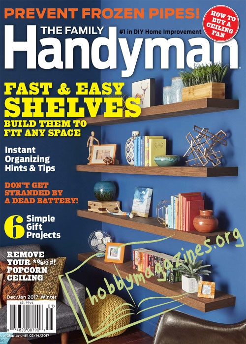 The Family Handyman – December/January 2017