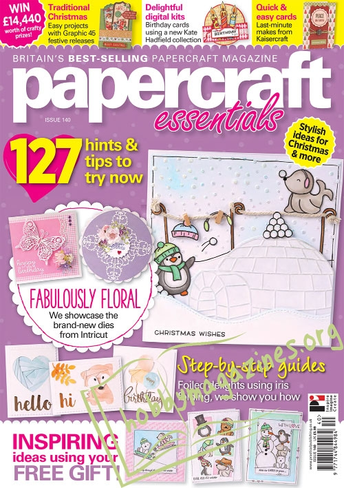 Papercraft Essentials Iss.140, 2016