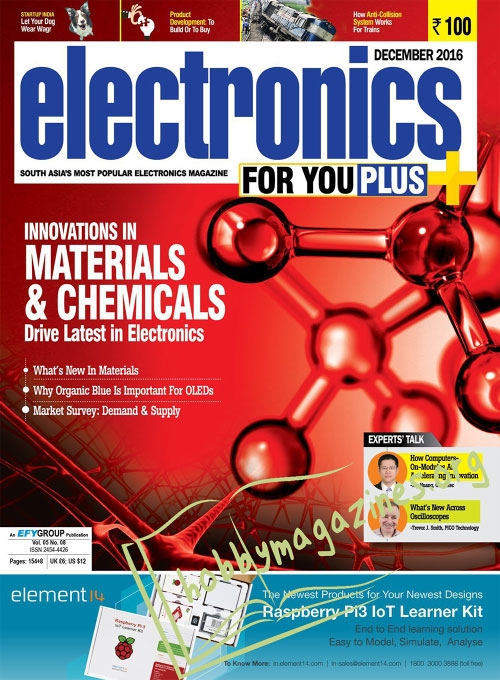 Electronics For You – December 2016