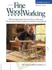 Fine Woodworking – January/February 2017