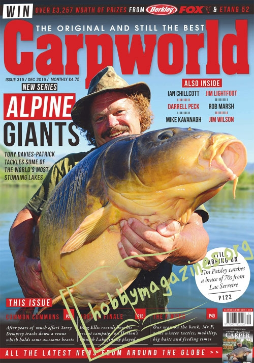 Carpworld – December 2016
