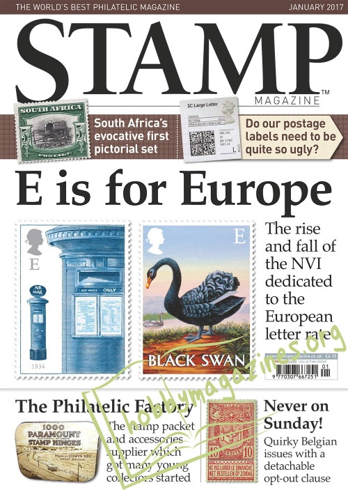 Stamp Magazine – January 2017