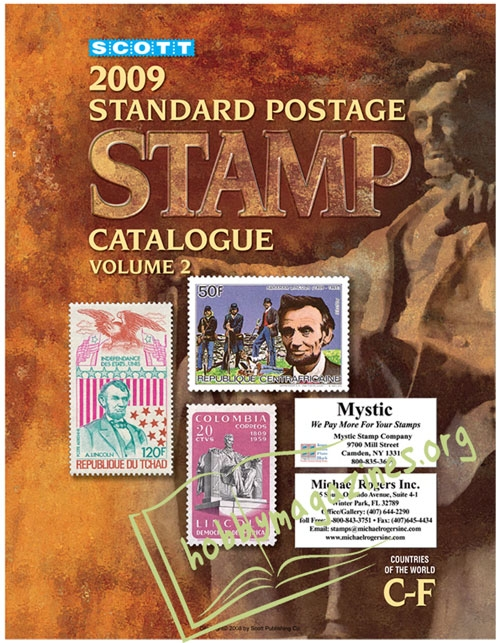 Scott Standard Postage Stamp Catalogue Vol.2 Countries of the World C-F