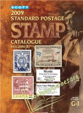 Scott Standard Postage Stamp Catalogue Vol.3 Countries of the World G-I0