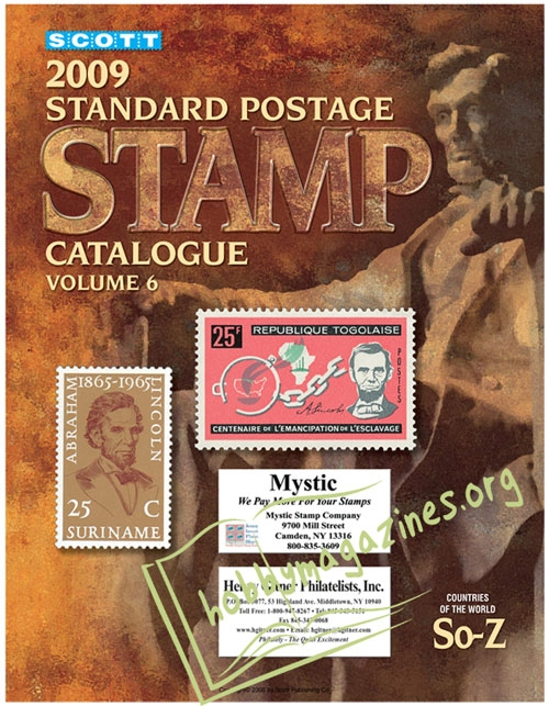 Scott Standard Postage Stamp Catalogue Vol.6 Countries of the World So - Z