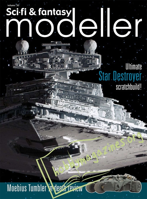 Sci-Fi and Fantasy Modeller 30