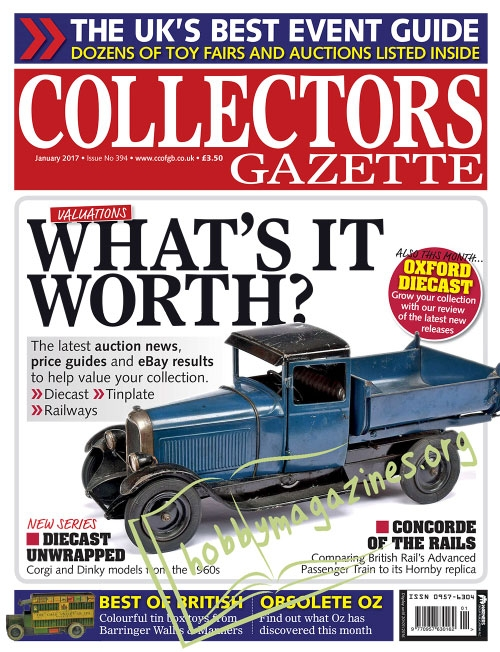 Collectors Gazette – January 2017