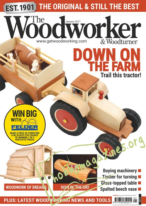 The Woodworker & Woodturner – January 2017