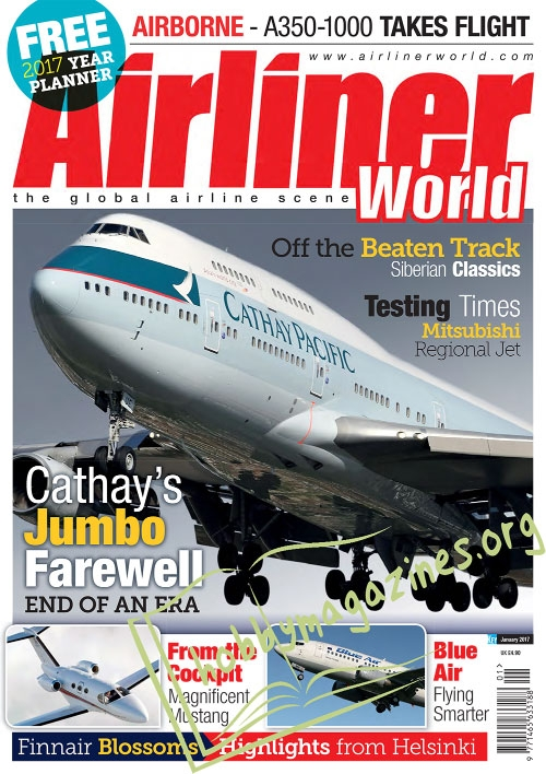 Airliner World – January 2017
