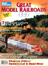 Model Railroader Special : Great Model Railroads 1991
