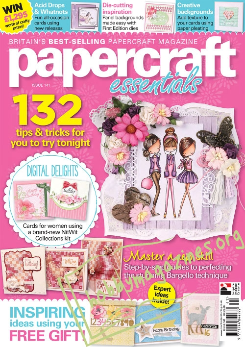 Papercraft Essentials Iss.141, 2017
