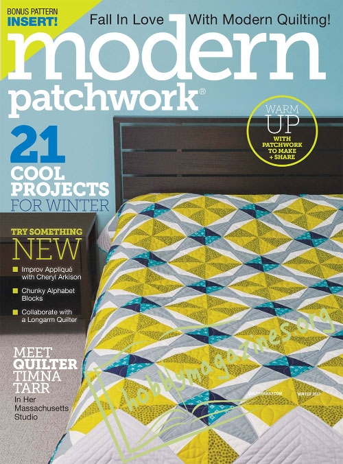 Modern Patchwork – Winter 2017