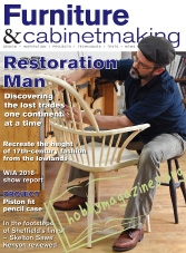 Furniture & Cabinetmaking  – January 2017