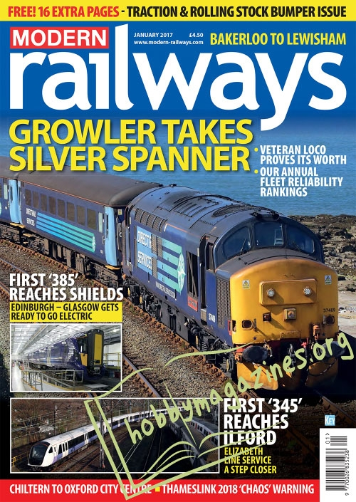 Modern Railways – January 2017