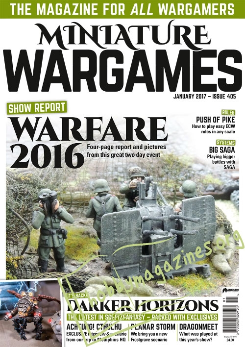 Miniature Wargames – January 2017