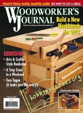 Woodworker's Journal – February 2017
