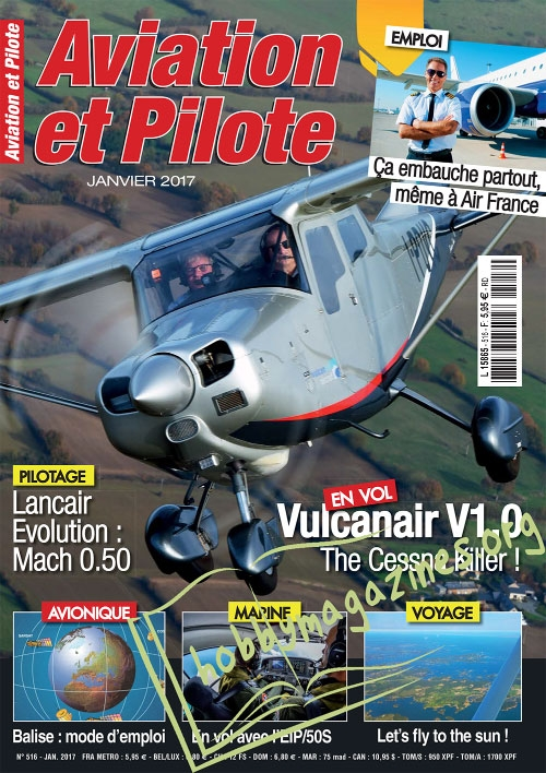 Aviation et Pilote - Janvier 2017