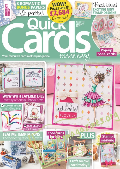Quick Cards Made Easy - January 2017