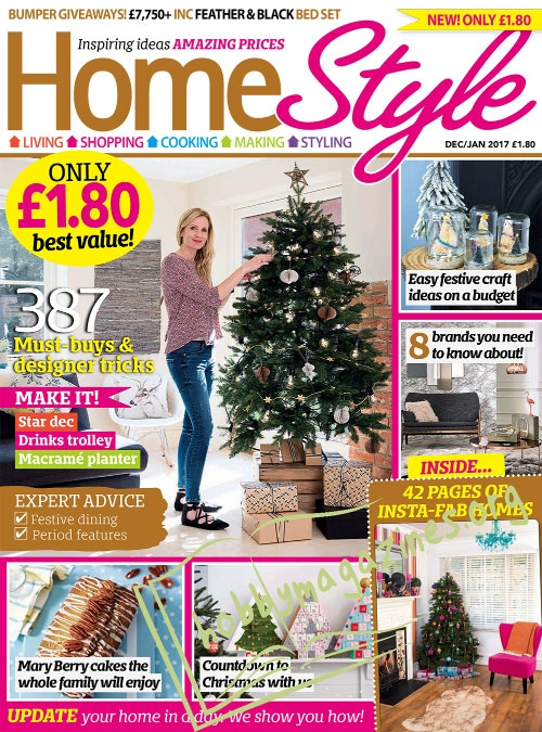 Homestyle - December/January 2017