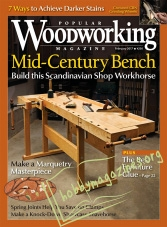 Popular Woodworking - February 2017