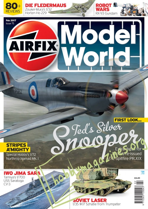 Airfix Model World 075 - February 2017