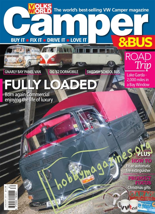 VW Camper & Bus - January 2017