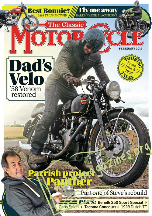 The Classic MotorCycle – February 2017