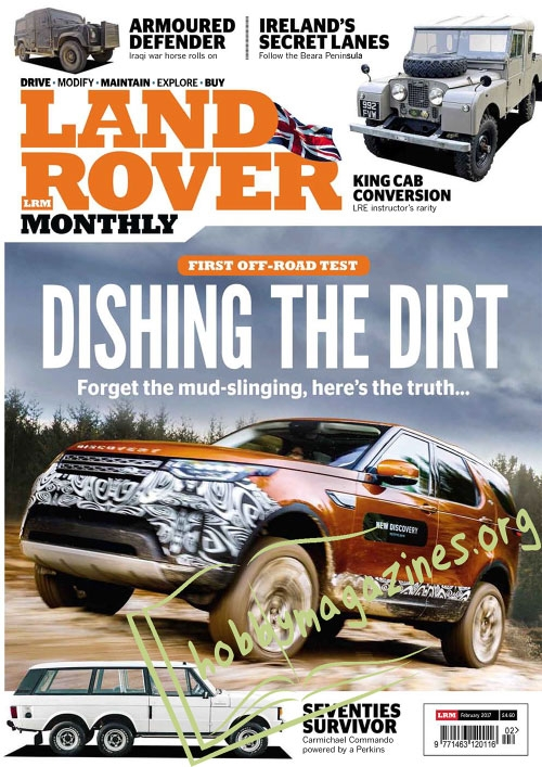 Land Rover Monthly - February 2017