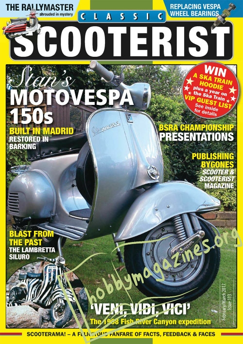 Classic Scooterist – February/March 2017