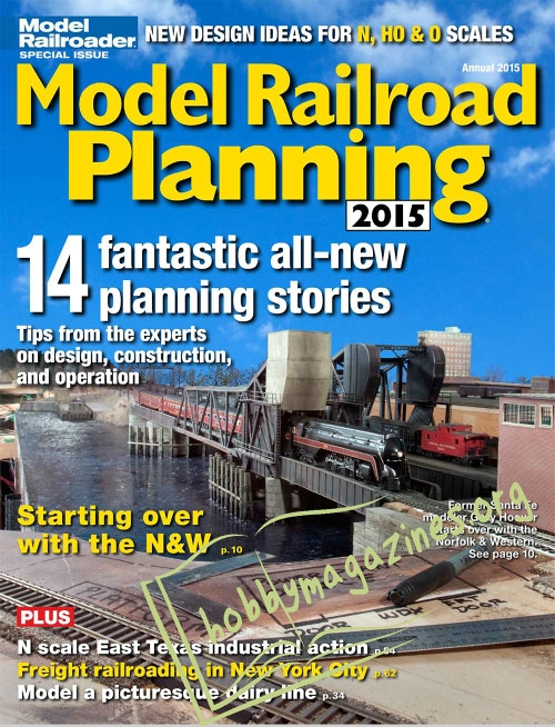 Model Railroad Planning 2015