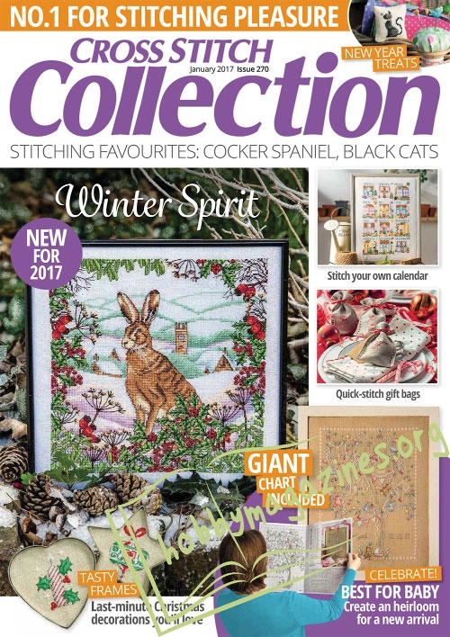 Cross Stitch Collection – January 2017