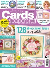 Simply Cards & Papercraft Issue 159, 2017