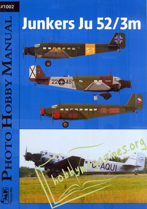 Photo Hobby Manual 02 - Junkers Ju 52/3m
