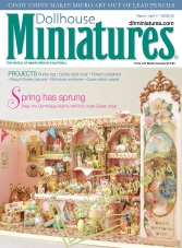 Dollhouse Miniatures – March/April 2017
