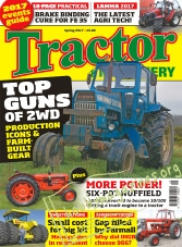 Tractor & Machinery – Spring 2017
