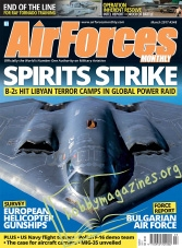 AirForces Monthly – March 2017