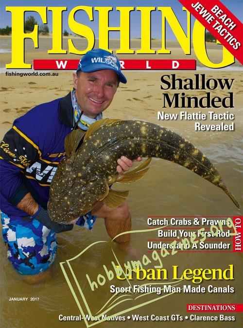 Fishing world january 2017 hobby magazines free for Free fishing magazines