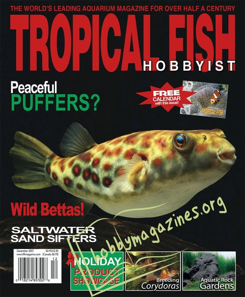 Tropical fish hobbyist december 2007 hobby magazines for Tropical fish magazine