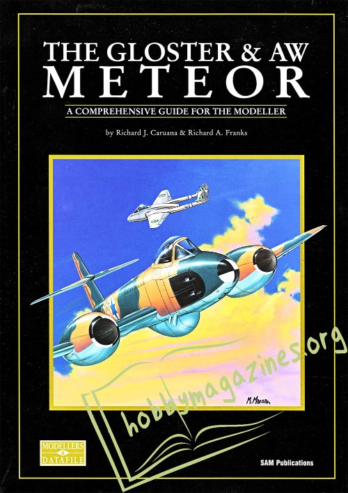Datafile 08 : The Gloster & AW Meteor
