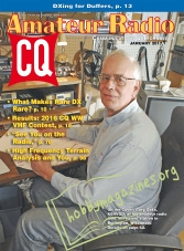 CQ Amateur Radio - January 2017