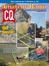 CQ Amateur Radio - February 2017