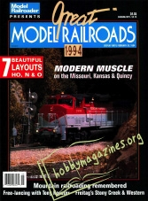 Model Railroader Special : Great Model Railroads 1994