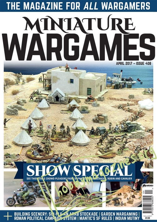 Miniature Wargames – April 2017