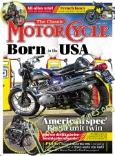 The Classic MotorCycle – May 2017